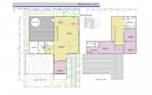 Floor Plan 4 Bedroom Alternative 2