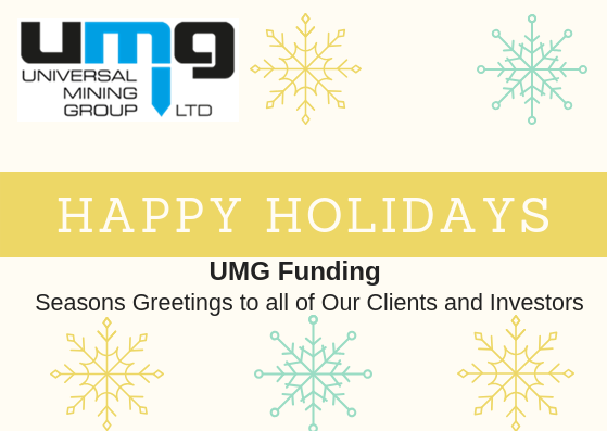 Seasons Greetings to All of Our Clients and Investors